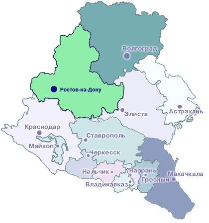 европейский юг россии: