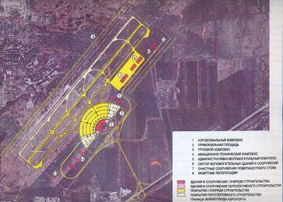 Где будет находиться аэропорт платов